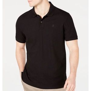Mens Polo Shirt | Black | DKNY | Size Large